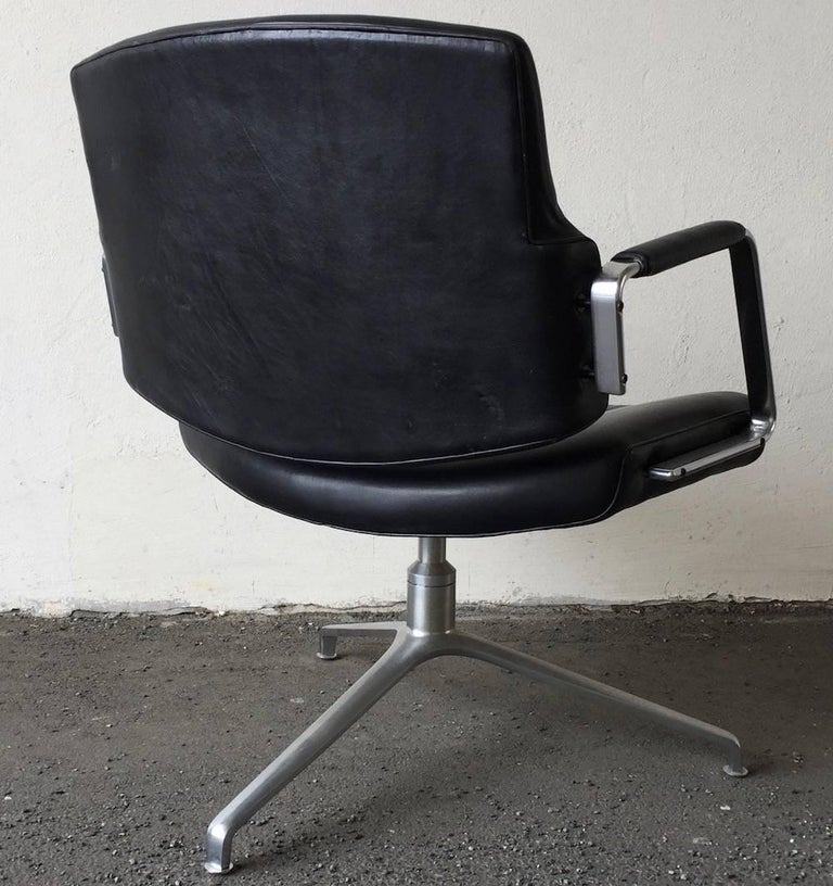 Mid-20th Century Rare Fabricius and Kastholm FK84 Lounge Chair For Sale