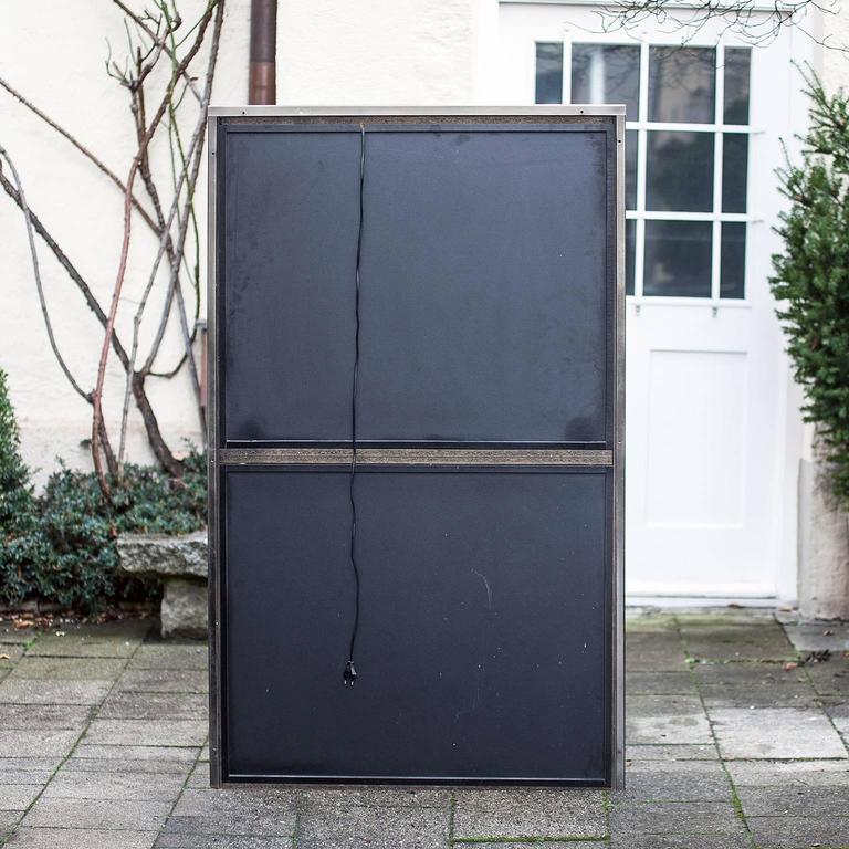 Bicolor Bar Cabinet Maison Jansen In Excellent Condition For Sale In Munich, DE