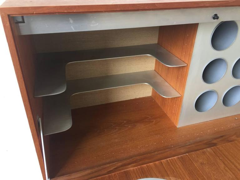 Space Age Meets Tradition Bar Cabinet from Denmark In Good Condition For Sale In Munich, DE