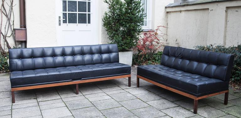 Mid-Century Modern Johannes Spalt Constanze Sofa Living Room Set For Sale