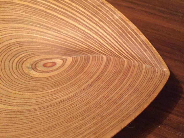 Wonderful Tapio Wirkkala Plywood Leaf For Sale 1