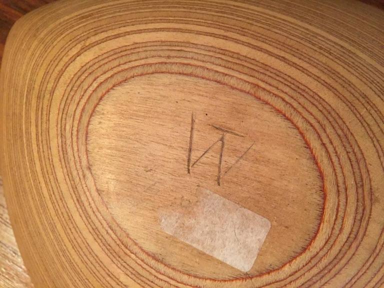 Mid-20th Century Wonderful Tapio Wirkkala Plywood Leaf For Sale
