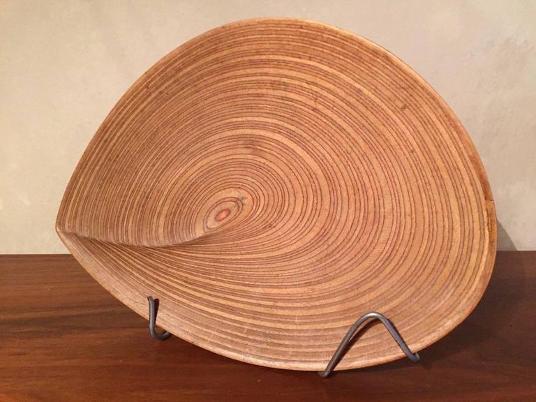 Wonderful Tapio Wirkkala Plywood Leaf For Sale 3
