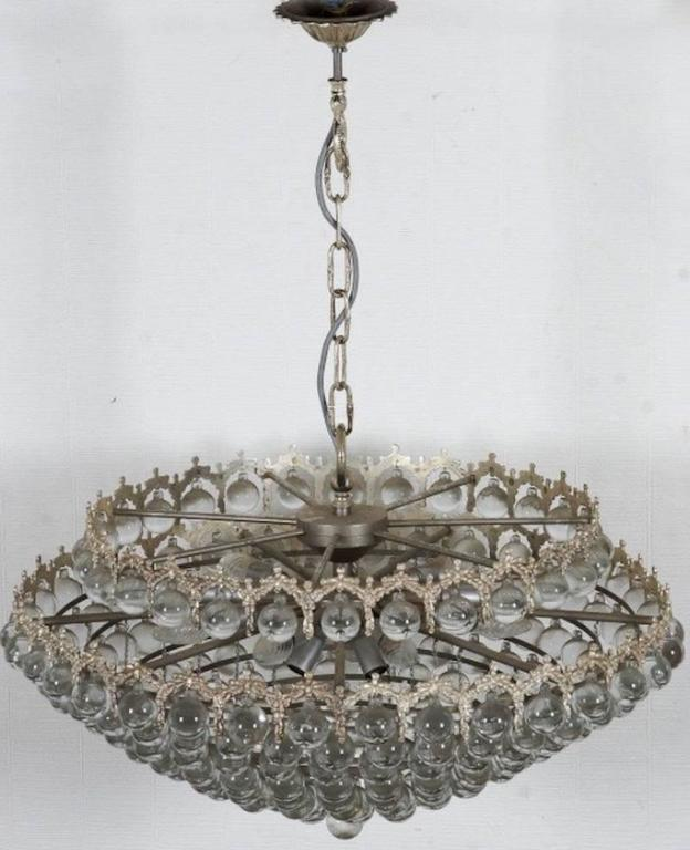 German Outstanding Palwa Chandelier For Sale