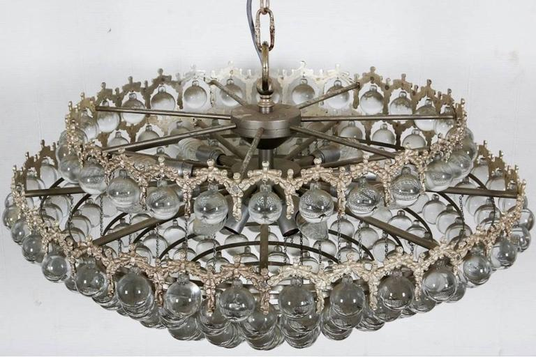 Outstanding Palwa Chandelier In Excellent Condition For Sale In Munich, DE