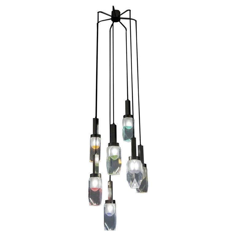 Stilnovo 1960 Hanging Lamp For Sale