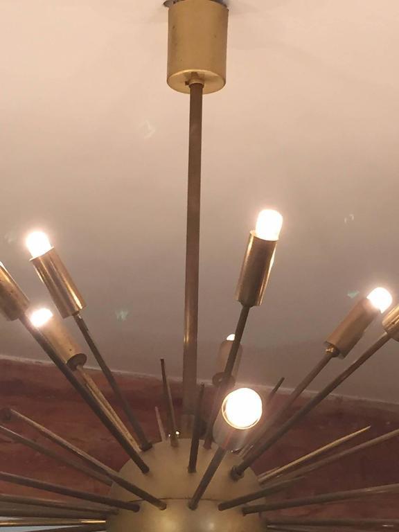 Original Stilnovo Sputnik Chandelier 2
