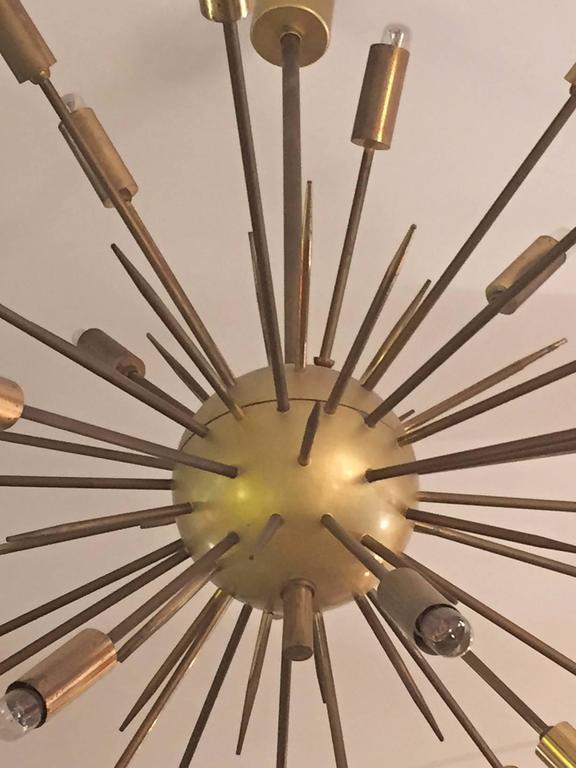 Original Stilnovo Sputnik Chandelier 3