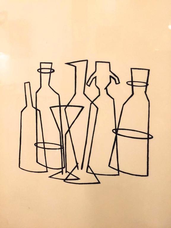 Italian Mahogany Bar Cabinet, circa 1950 7