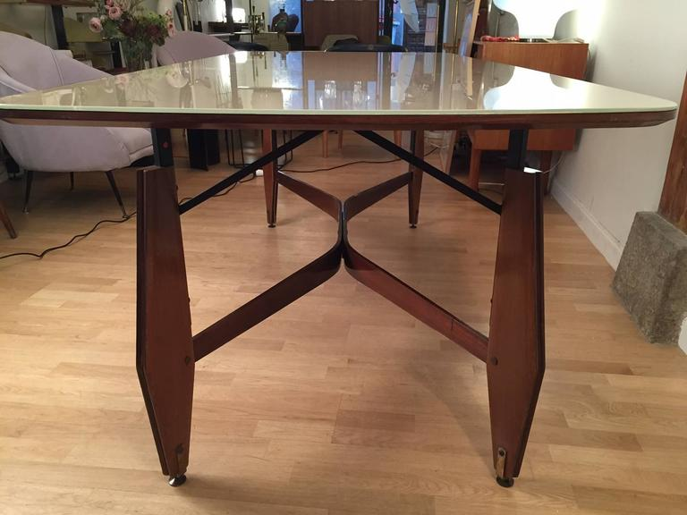 Mid-20th Century Melchiorre Bega Dining Table for Altamira, 1960