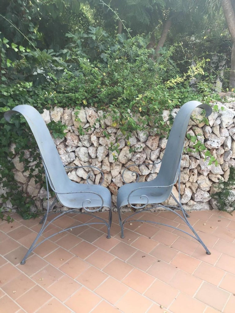 "Pair of Fabrizio Corneli ""Leave"" Chairs, 1986 6"