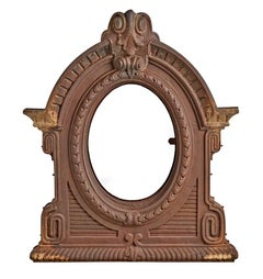 Monumental Cast Iron Window, circa 1850s