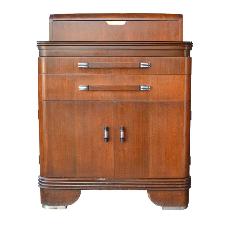 Streamline medical cabinet by hamilton circa 1920 at 1stdibs for I furniture hamilton