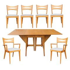 Maple Heywood-Wakefield Dining Set, circa 1955