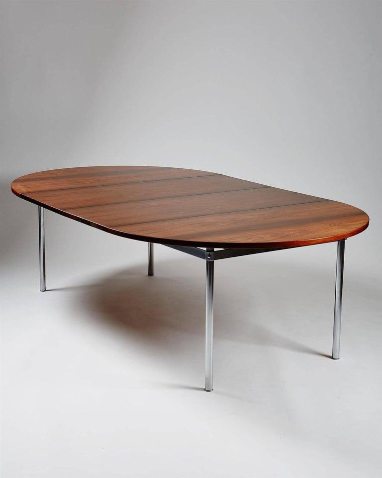 Scandinavian Modern Dining Table Designed by Hans Wegner for Andreas Tuck, Denmark, 1961 For Sale