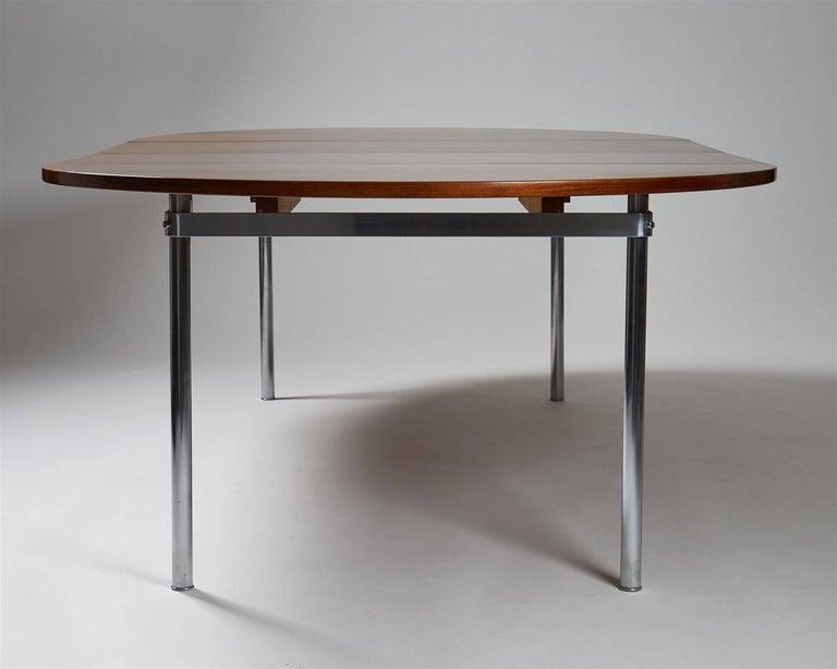 Danish Dining Table Designed by Hans Wegner for Andreas Tuck, Denmark, 1961 For Sale
