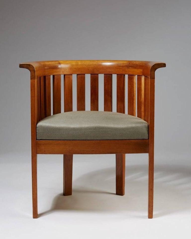 Scandinavian Modern Chair, Art Nouveau, Anonymous, Sweden, 1900s For Sale
