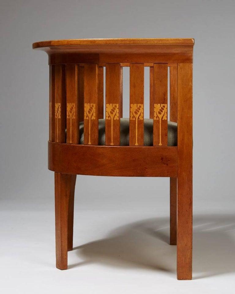 Swedish Chair, Art Nouveau, Anonymous, Sweden, 1900s For Sale