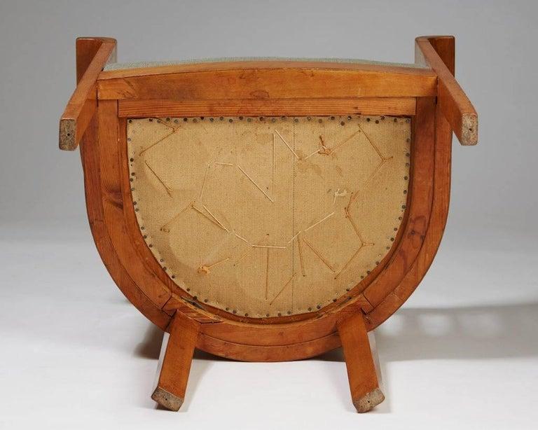 Chair, Art Nouveau, Anonymous, Sweden, 1900s For Sale 1