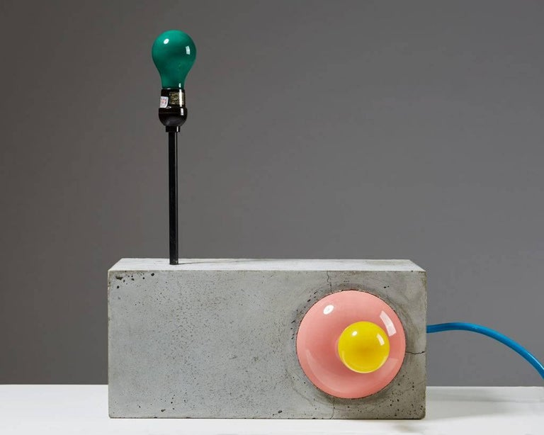 "Contemporary Lighting Sculpture ""Dubtronic"" by Jim Lambie, Scotland, 2005 For Sale"