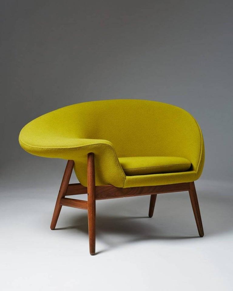 Armchair designed by Hans Olsen for Bramin, 