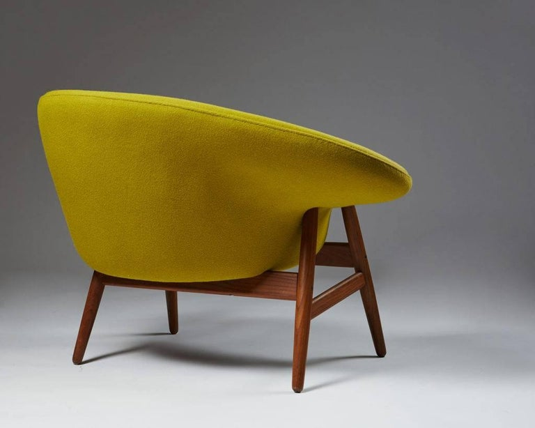 Armchair Designed by Hans Olsen for Bramin, Denmark, 1956 In Excellent Condition For Sale In Stockholm, SE