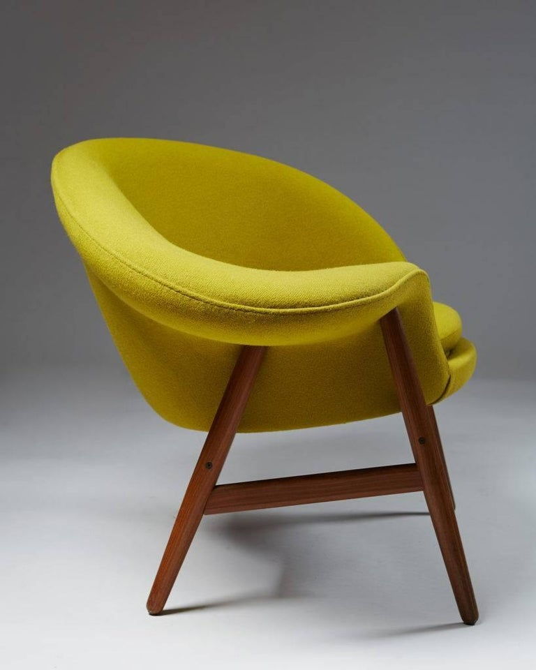 Danish Armchair Designed by Hans Olsen for Bramin, Denmark, 1956 For Sale