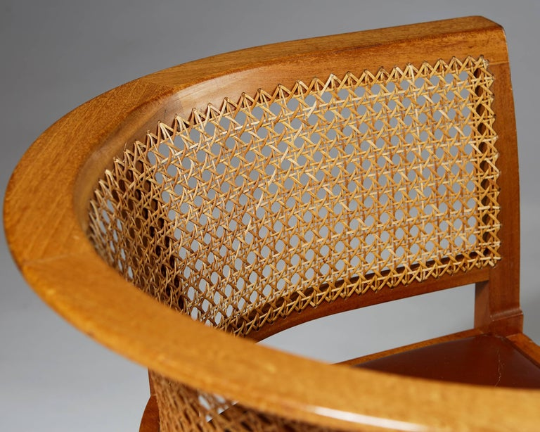 Faaborg Chair Designed by Kaare Klint for Rud. Rasmussen, Denmark, 1914 For Sale 1