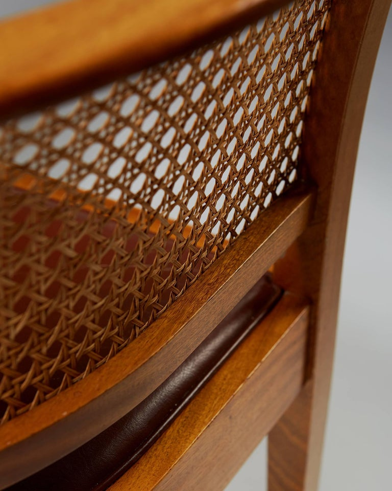 Faaborg Chair Designed by Kaare Klint for Rud. Rasmussen, Denmark, 1914 For Sale 2