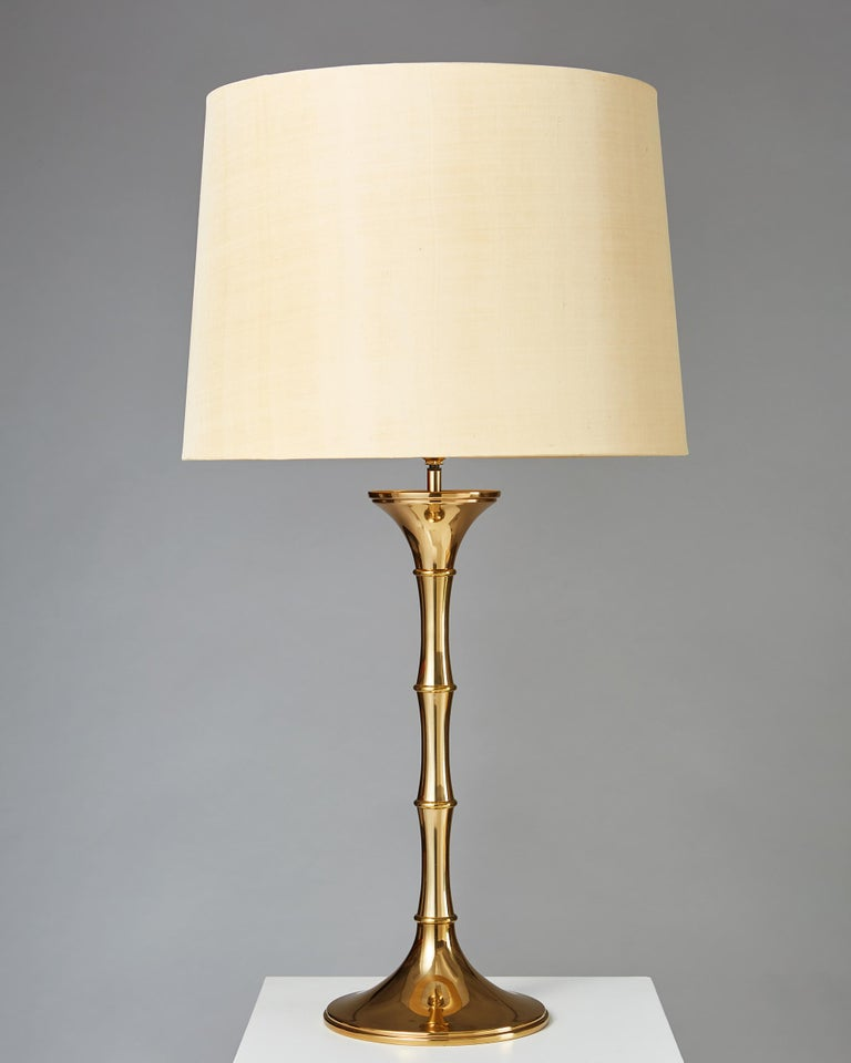 Scandinavian Modern Pair of Table Lamps 'Bamboo MI1' Designed by Ingo Maurer, Germany, 1968 For Sale