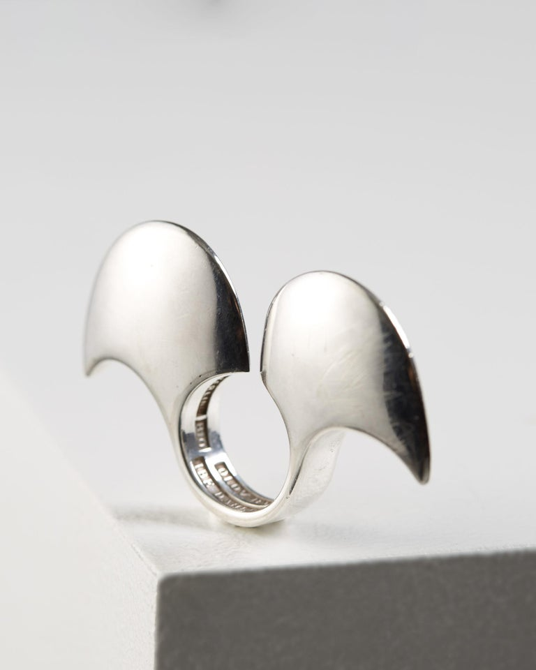 Sterling silver.