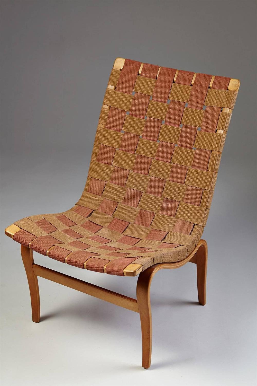 Eva, Designed by Bruno Mathsson for Karl Mathsson, Sweden, 1941 For Sale at 1stdibs