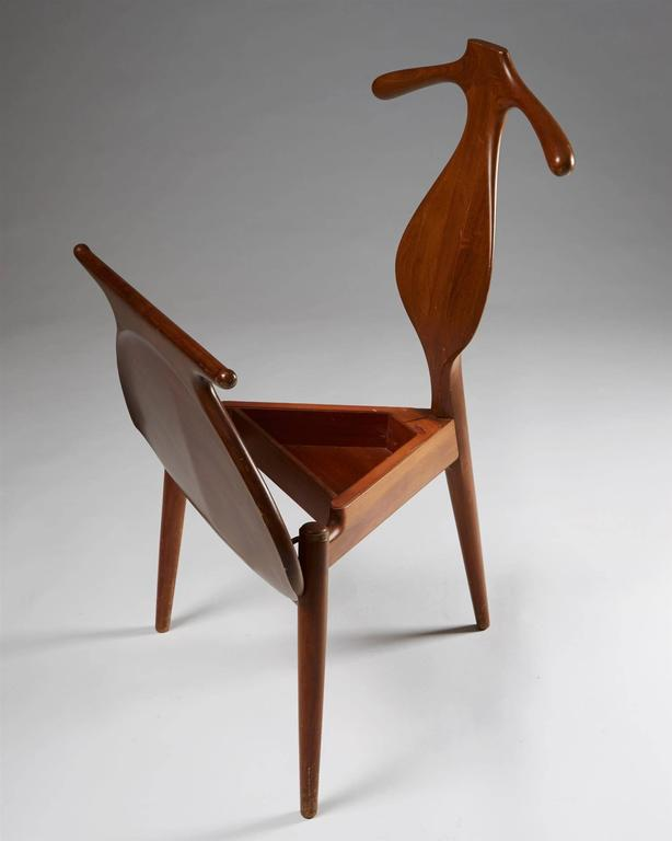 Mid-20th Century Valet Chair Designed by Hans Wegner for Johannes Hansen, Denmark, 1950s For Sale