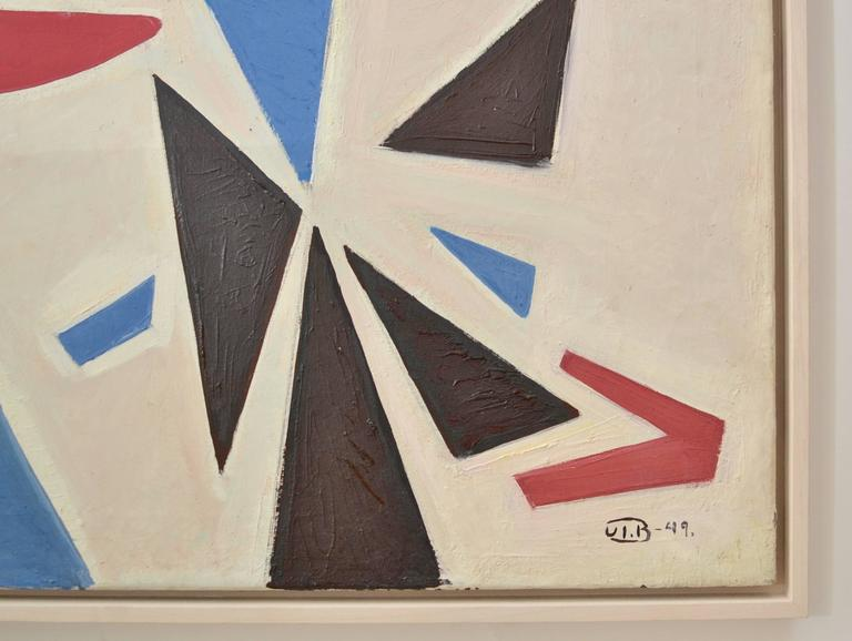 John Ivar Berg (1916-2003), oil on canvas. Signed and dated 1949.