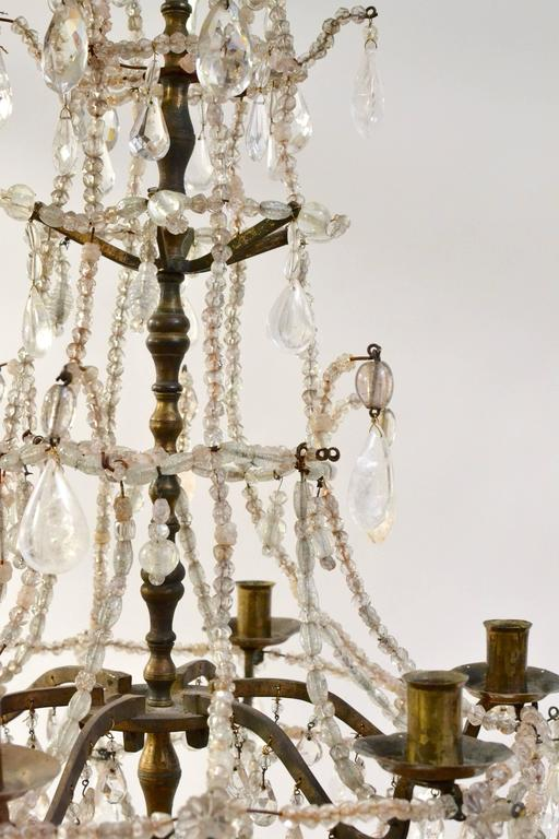 18th century french baroque chandelier at 1stdibs gilt 18th century french baroque chandelier for sale aloadofball Images