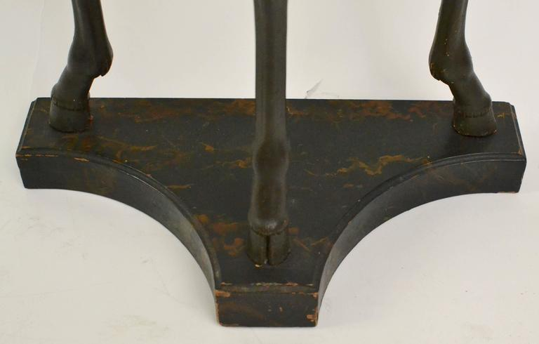 Early 19th Century Late Gustavian Giltwood Console Table with a Blue Turquin Marble Top, circa 1805 For Sale
