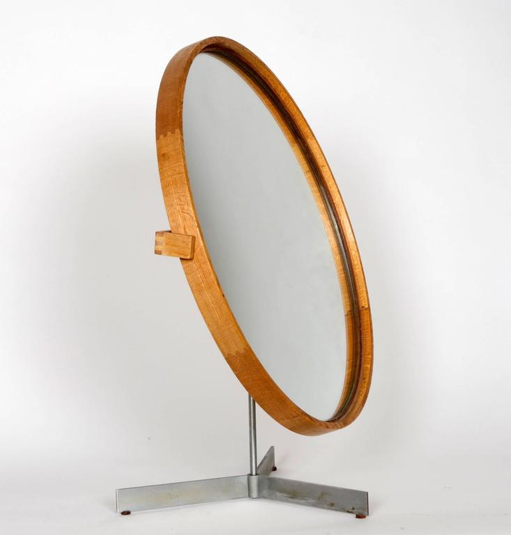 Table Mirror by Uno & Östen Kristiansson for Luxus of Sweden, 1960s 2