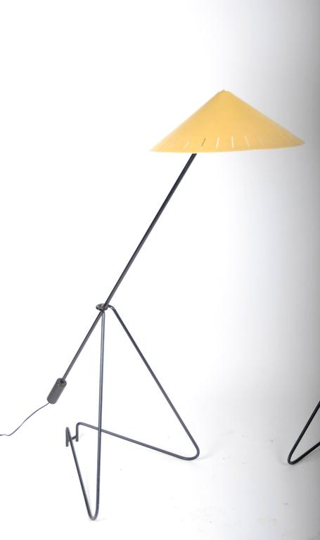 Pair of Floor Lamps, Sweden, 1950-1960s In Good Condition For Sale In Stockholm, SE