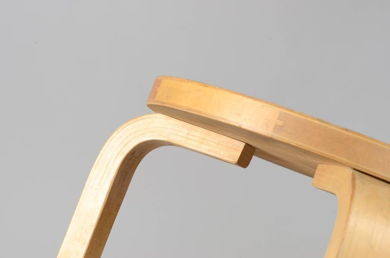 Beech Five Stacking Stools, Model 60, by Alvar Aalto, Designed in 1933 For Sale