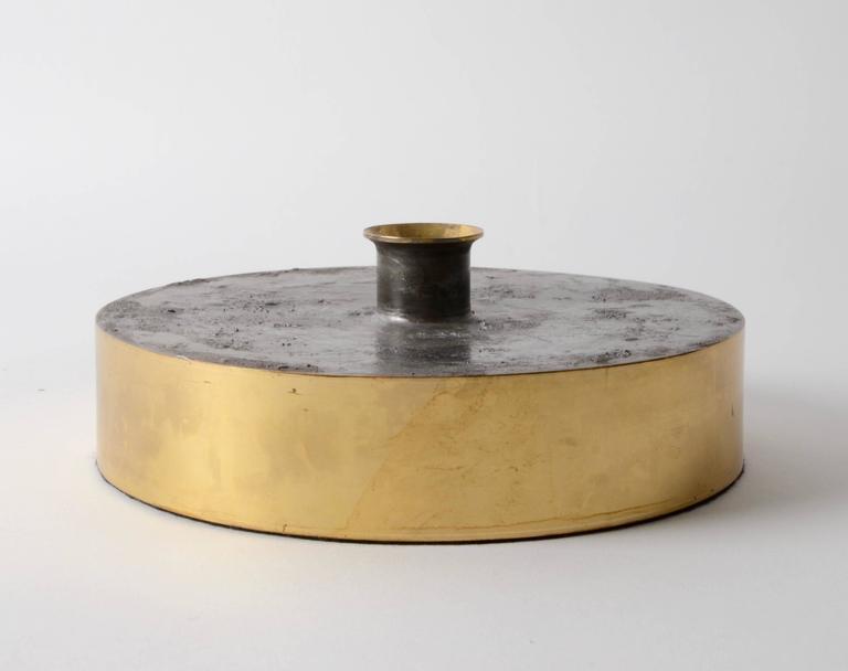 Scandinavian Modern Rare Vas, Designed by Pierre Forssell for Skultuna 1607, Sweden, 1960s-1970s For Sale