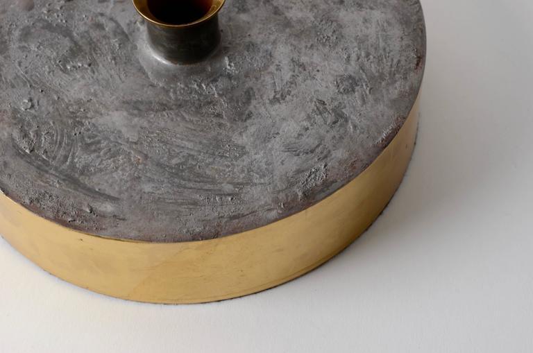 Brass Rare Vas, Designed by Pierre Forssell for Skultuna 1607, Sweden, 1960s-1970s For Sale