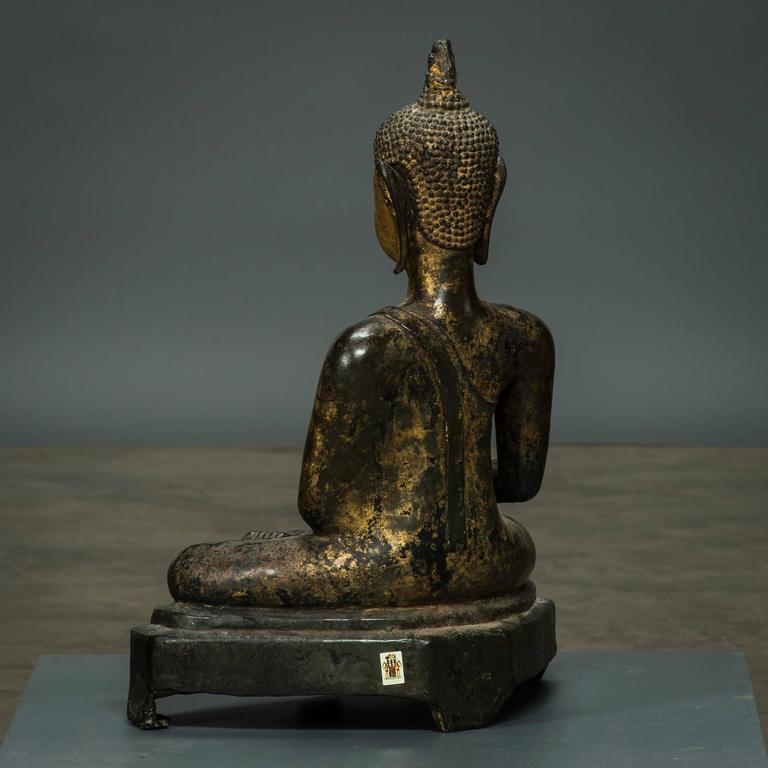 how to know where bronze buddha came from