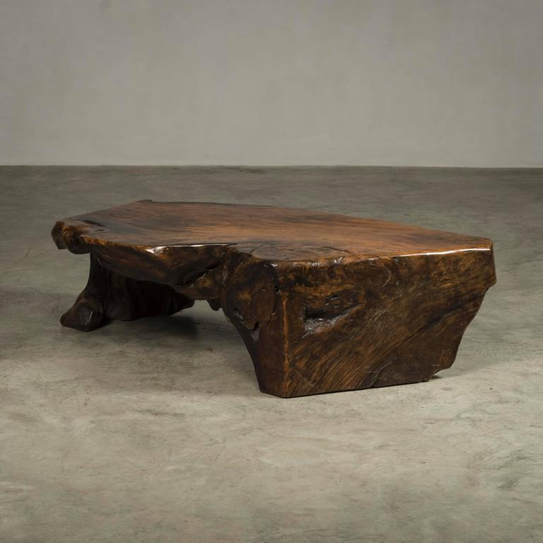 Root Coffee Table For Sale: Coffee Table, Free-Form, Made Of Narra Root Wood For Sale