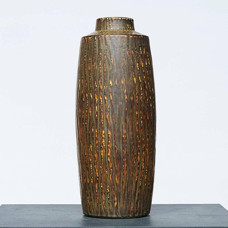 Mid-20th Century Large Vases by Gunner Nylund