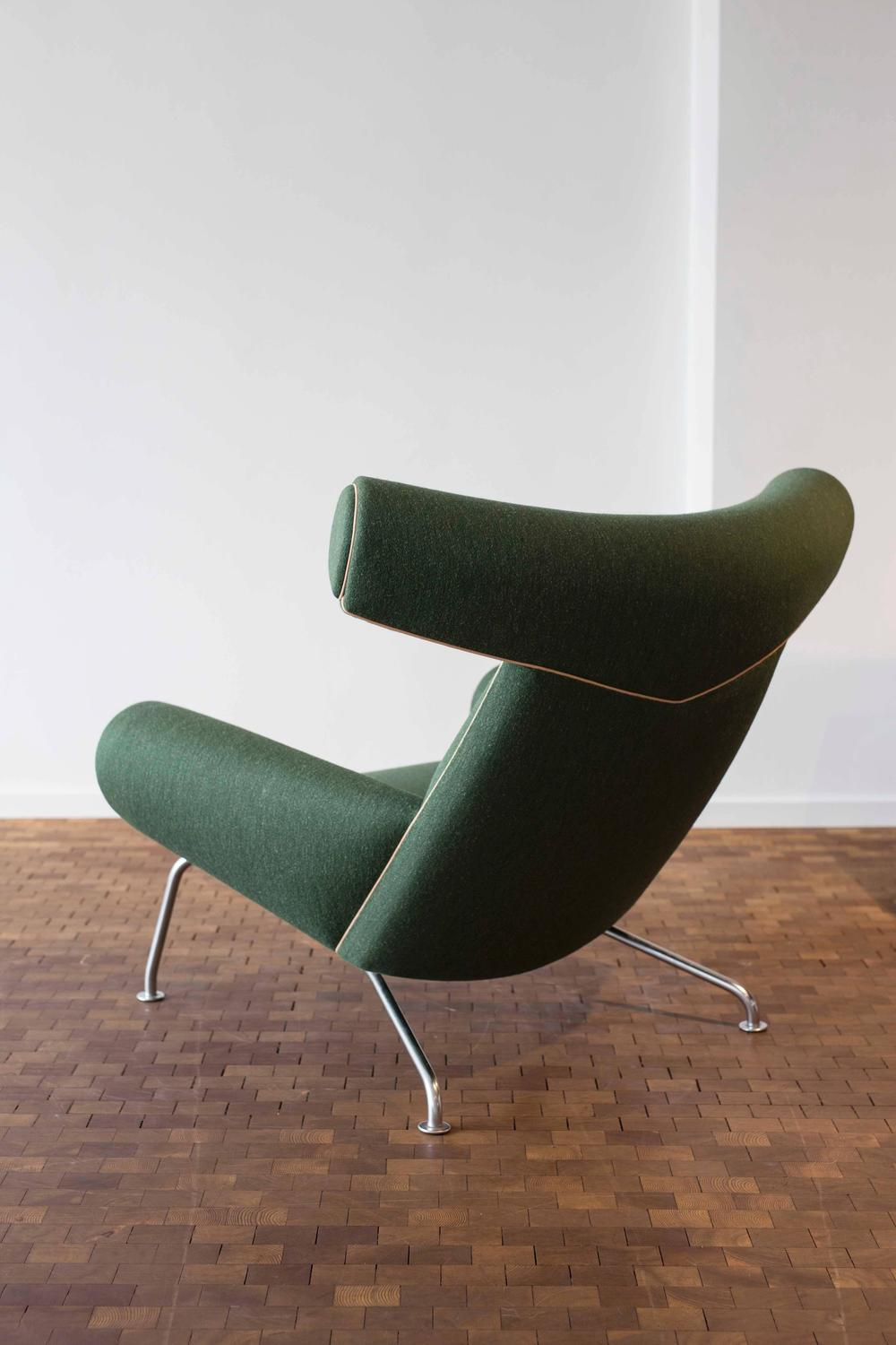 hans j wegner ox chair for ap stolen for sale at 1stdibs. Black Bedroom Furniture Sets. Home Design Ideas