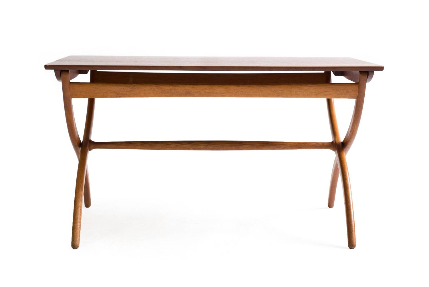 Ole Wanscher Adjustable Coffee Table For Rud Rasmussen 1951 For Sale At 1stdibs
