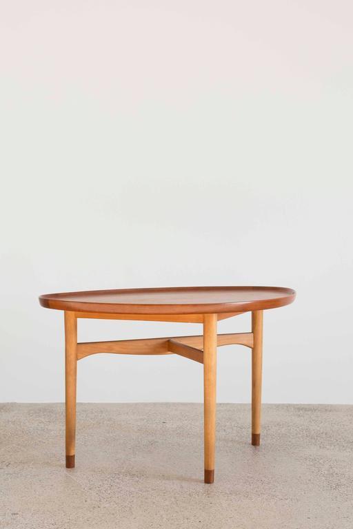 Scandinavian Modern Finn Juhl Coffee Table For Bovirke 1948