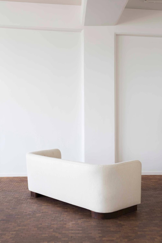 Ole Wanscher Sofa For Fritz Hansen Model 1668 For Sale At