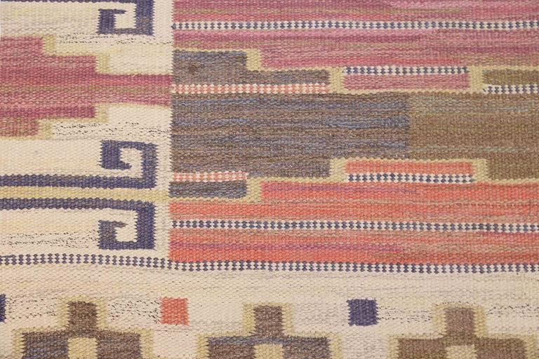 Scandinavian Modern Marta-Maas Fjetterstöm 'Bruna Heden' Carpet, 1931 For Sale
