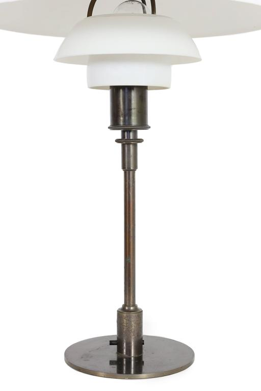 Poul Henningsen PH 4/3 Table Lamp, Pat Appl. 1927 2